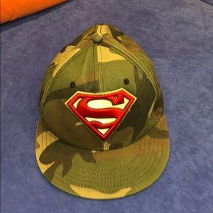 Superman Camo SnapBack